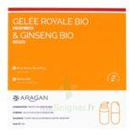 Aragan Gelée Royale & Ginseng Bio 15000 mg Gelée + comprimés Fl pompe airless/18g + comprimés à SARROLA-CARCOPINO