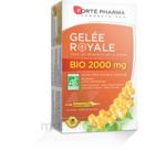 Forte Pharma Gelée royale bio 2000 mg Solution buvable 20 Ampoules/15ml à SARROLA-CARCOPINO