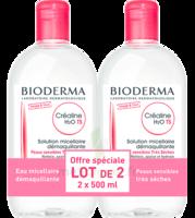 Crealine Ts H2o Solution Micellaire Sans Parfum Nettoyante Apaisante 2fl/500ml à SARROLA-CARCOPINO
