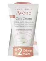 Avène Eau Thermale Cold Cream Duo Crème Mains 2x50ml à SARROLA-CARCOPINO
