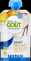 Good Goût Alimentation Infantile Brassé Poire Vanille Gourde/90g à SARROLA-CARCOPINO