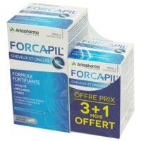 Forcapil Gélules Croissance Vitalité Cheveux Ongles B/180+60 à SARROLA-CARCOPINO