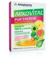Arkovital Pur'Energie Multivitamines Comprimés dès 6 ans B/30 à SARROLA-CARCOPINO