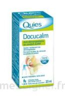 QUIES DOCUCALM ANTIDEMANGEAISONS DU CONDUIT AUDITIF, spray 20 ml à SARROLA-CARCOPINO