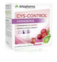 Cys-Control 36mg Poudre orale 20 Sachets/4g à SARROLA-CARCOPINO