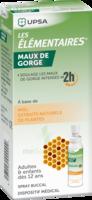 LES ELEMENTAIRES Solution buccale maux de gorge adulte 30ml à SARROLA-CARCOPINO
