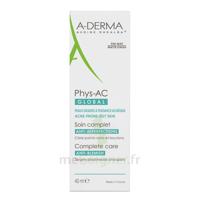 Aderma Phys'ac Global Soin Imperfection Sévères 40ml à SARROLA-CARCOPINO