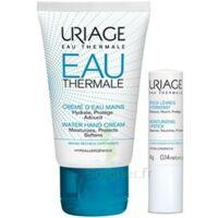 Uriage Eau Thermale Crème D'eau Mains T/30ml+stick Lèvres à SARROLA-CARCOPINO