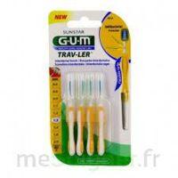 Gum Trav - Ler, 1,3 Mm, Manche Jaune , Blister 4 à SARROLA-CARCOPINO