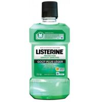 Listerine Protection Dents Gencives Bain bouche goût plus léger Fl/500ml à SARROLA-CARCOPINO