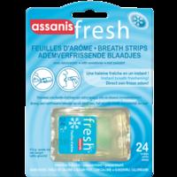 Assanis Fresh Feuille D'arôme Menthe Fraîche Blister/24 à SARROLA-CARCOPINO