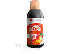 Turbodraine Solution buvable Thé-Pêche 2*500ml à SARROLA-CARCOPINO