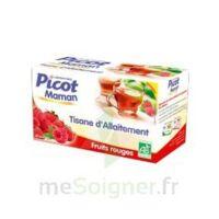 Picot Maman Tisane d'allaitement Fruits rouges 20 Sachets à SARROLA-CARCOPINO