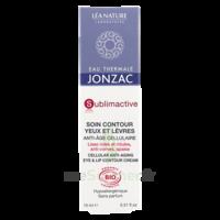Jonzac Eau Thermale Sublimactive Crème Soin Contour Yeux Lèvres Jeunesse Immédiate 15ml à SARROLA-CARCOPINO