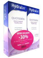 Hydralin Quotidien Gel lavant usage intime 2*200ml à SARROLA-CARCOPINO