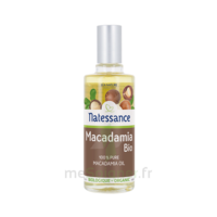 Natessance Huile Macadamia Bio 50ml à SARROLA-CARCOPINO