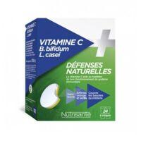 Nutrisanté Vitamine C+Probiotiques Comprimés à croquer 2*T/12 à SARROLA-CARCOPINO