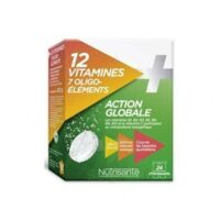 Nutrisanté 12 Vitamines+7 Oligo-éléments Comprimés effervescents 2*T/12 à SARROLA-CARCOPINO