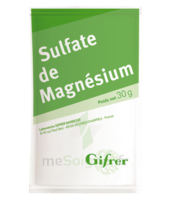 Gifrer Magnésium Sulfate Poudre 50 Sachets/30g à SARROLA-CARCOPINO