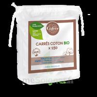 Gifrer Carré Coton Bio Sachet/150 à SARROLA-CARCOPINO