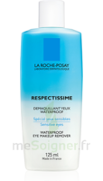 Respectissime Lotion Waterproof Démaquillant Yeux 125ml à SARROLA-CARCOPINO