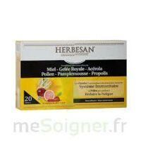 Herbesan Système Immunitaire 30 Ampoules à SARROLA-CARCOPINO
