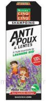 Cinq sur Cinq Natura Shampooing anti-poux lentes lavande 100ml à SARROLA-CARCOPINO