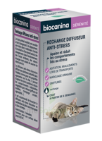 Biocanina Recharge pour diffuseur anti-stress chat 45ml à SARROLA-CARCOPINO