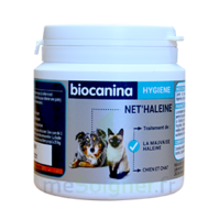Net'Haleine Poudre orale appétente chien chat Pot/85g à SARROLA-CARCOPINO