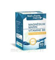 Nat&form Expert Magnésium+vitamine B6 Gélules B/40 à SARROLA-CARCOPINO