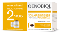 Oenobiol Solaire Intensif Caps Peau Normale 2*pot/30 à SARROLA-CARCOPINO
