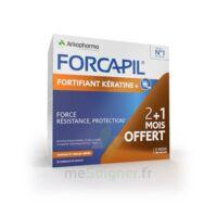 Forcapil Fortifiant + Kératine Gélules B/180 à SARROLA-CARCOPINO
