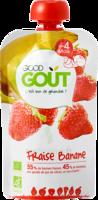 Good Goût Alimentation Infantile Fraise Banane Gourde/120g à SARROLA-CARCOPINO
