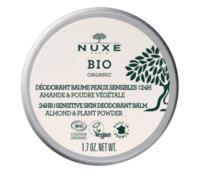 Nuxe Bio Déodorant Baume Fraîcheur 24h Peaux Sensibles Pot/50g à SARROLA-CARCOPINO