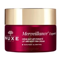 Nuxe Merveillance Expert Crème Nuit Rides Installées Et Fermeté Pot/50ml