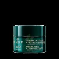 Nuxe Bio Masque Détoxifiant Eclat 50ml à SARROLA-CARCOPINO