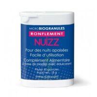 Nuizz Ronflement Granules Microbio Ronflement Obstruction Voies Respiratoires B/60 à SARROLA-CARCOPINO